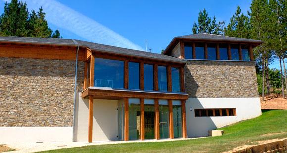 Centro de interpretación de la viña y el vino de Camponaraya